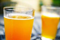 Duas cervejas fotografia de stock