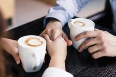Duas chávenas de café Imagens de Stock Royalty Free