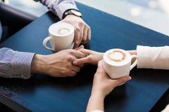 Duas chávenas de café Fotografia de Stock Royalty Free