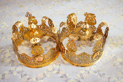 Duas coroas Foto de Stock Royalty Free