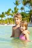 Duas crianças Foto de Stock