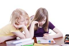Duas crianças Imagem de Stock Royalty Free