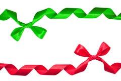 Duas curvas isoladas em um branco Foto de Stock Royalty Free