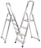 Duas escadas de alumínio Imagem de Stock