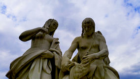 Duas esculturas Imagem de Stock