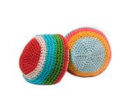 Duas esferas. Footbag. Fotografia de Stock Royalty Free
