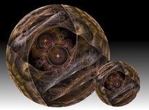 Duas esferas mágicas Imagem de Stock