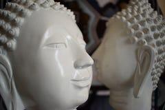 Duas estátuas de Buddha Imagem de Stock Royalty Free