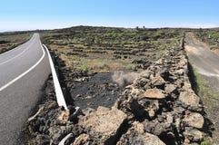 Duas estradas Imagem de Stock