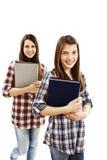 Duas estudantes imagem de stock royalty free