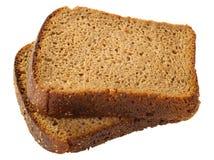 Duas fatias de pão Imagem de Stock Royalty Free
