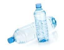 Duas garrafas de água Fotografia de Stock