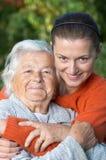Duas gerações Fotos de Stock Royalty Free