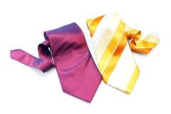 Duas gravatas Fotografia de Stock