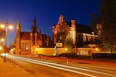Duas igrejas Fotografia de Stock Royalty Free
