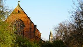 Duas igrejas Imagem de Stock Royalty Free