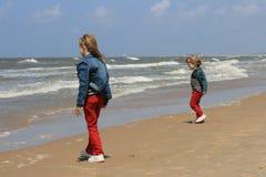 Duas irmãs Imagem de Stock