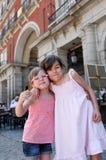 Duas irmãs fotografia de stock