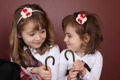 Duas irmãs Imagens de Stock Royalty Free