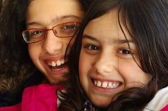 Duas irmãs Foto de Stock Royalty Free