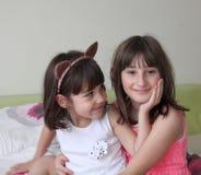 Duas irmãs Foto de Stock
