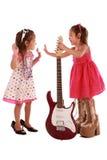 Duas irmãs addorable Fotografia de Stock Royalty Free