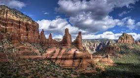 Duas irmãs balançam em Sedona o Arizona foto de stock royalty free