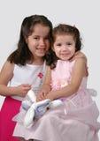 Duas irmãs latino-americanos Fotografia de Stock