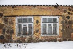 Duas janelas Fotografia de Stock