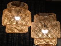 Duas lâmpadas Imagens de Stock Royalty Free