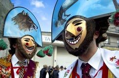 Duas máscaras Foto de Stock