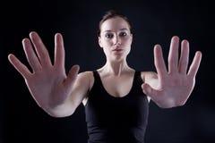 Duas mãos Imagem de Stock
