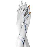 Duas mãos Fotografia de Stock