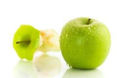 Duas maçãs Fotografia de Stock Royalty Free