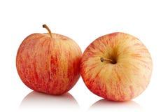 Duas maçãs vermelhas Foto de Stock Royalty Free