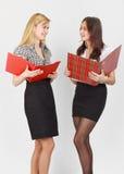 Duas meninas Fotos de Stock Royalty Free