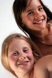 Duas meninas Imagens de Stock