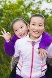 Duas meninas Foto de Stock Royalty Free