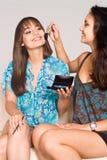 Duas meninas que compo Fotografia de Stock Royalty Free
