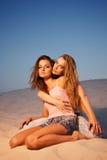 Duas meninas 'sexy' Foto de Stock