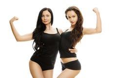 Duas meninas 'sexy' Imagem de Stock Royalty Free
