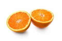 Duas metades da laranja Foto de Stock Royalty Free