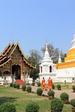 Duas monges Imagens de Stock Royalty Free