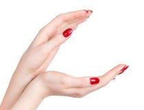 Duas mãos da mulher Fotografia de Stock Royalty Free