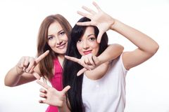 Duas mulheres. Imagens de Stock Royalty Free