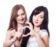 Duas mulheres. Imagens de Stock
