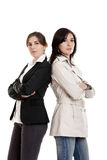 Duas mulheres Fotos de Stock Royalty Free