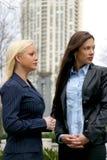 Duas mulheres de negócio Fotos de Stock
