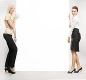 Duas mulheres de negócios foto de stock royalty free