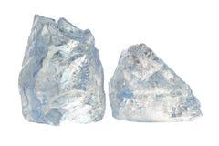 Duas partes de gelo Fotografia de Stock Royalty Free